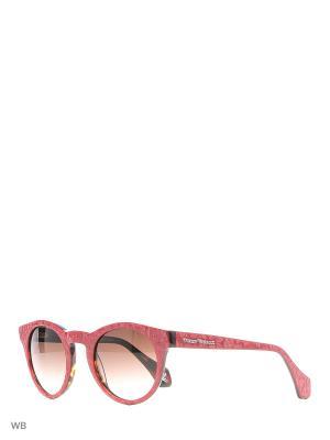 Солнцезащитные очки VW 338S 05 Vivienne Westwood. Цвет: красный