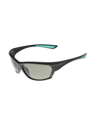 Солнцезащитные очки Gusachi. Цвет: черный, зеленый, серый