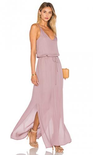 Вечернее платье harlow Rory Beca. Цвет: румянец
