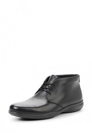 Ботинки GRENOBLE Ecco. Цвет: черный