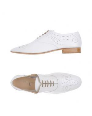 Обувь на шнурках SETTANTATRE LR. Цвет: белый