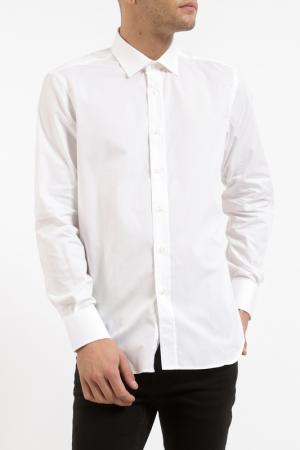 Рубашка Pierre Balmain. Цвет: белый