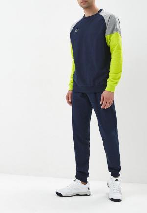 Костюм спортивный Umbro. Цвет: синий