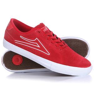 Кеды кроссовки низкие  Mariano Red/Suede Lakai. Цвет: красный