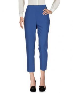 Повседневные брюки DIVE DIVINE. Цвет: синий