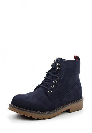 Ботинки Benini. Цвет: синий