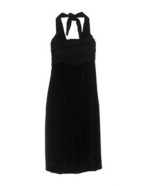 Платье до колена ALICE SAN DIEGO. Цвет: черный