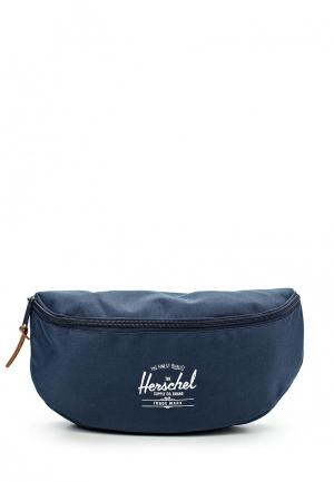 Сумка поясная Herschel Supply Co. Цвет: синий