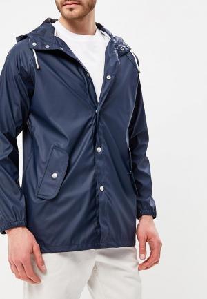 Куртка Solid. Цвет: синий