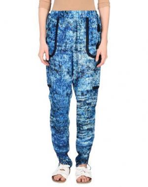 Повседневные брюки ELIE TAHARI. Цвет: лазурный