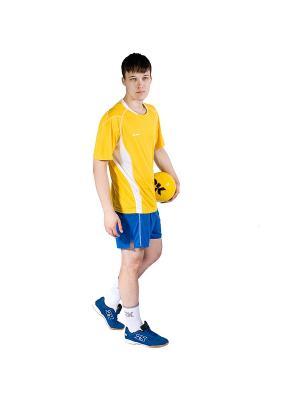 Футболка волейбольная Energy 2K. Цвет: желтый, белый