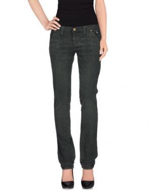 Повседневные брюки ROŸ ROGER'S. Цвет: темно-зеленый