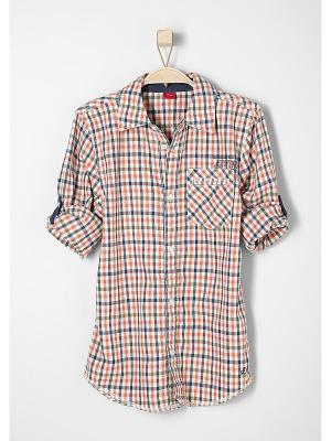 Рубашка S.OLIVER. Цвет: оранжевый
