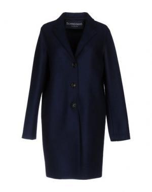 Пальто SCHNEIDERS. Цвет: темно-синий
