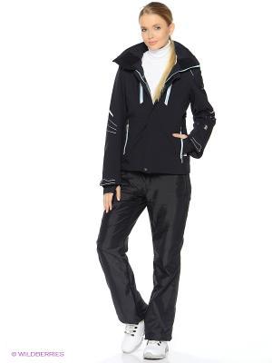 Куртка HALTI. Цвет: черный