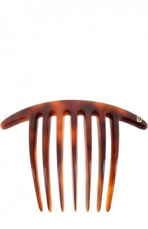 Гребень ручной работы Alexandre De Paris. Цвет: коричневый