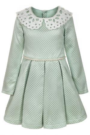 Платье NOTA BENE. Цвет: бирюзовый