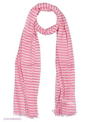 Платок United Colors of Benetton. Цвет: розовый, бледно-розовый, кремовый