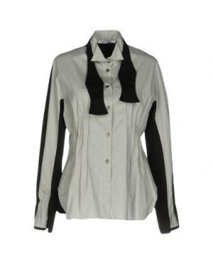 Pубашка OBLIQUE CREATIONS. Цвет: светло-серый