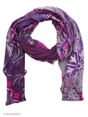 Платок Eleganzza. Цвет: фиолетовый, розовый, серый