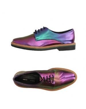 Обувь на шнурках MIISTA. Цвет: фиолетовый