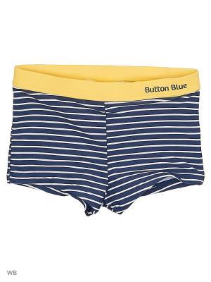 Плавки Button Blue. Цвет: темно-синий