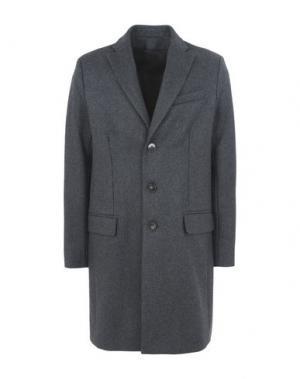 Пальто HARMONY Paris. Цвет: стальной серый