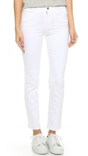 Прямые джинсы Le High FRAME. Цвет: белый