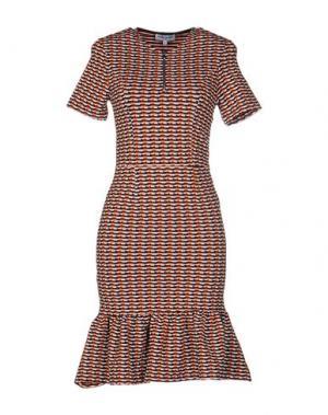 Короткое платье OPENING CEREMONY. Цвет: ржаво-коричневый