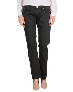 Повседневные брюки NOLITA DE NIMES. Цвет: стальной серый