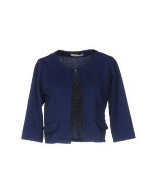 Пиджак RISSKIO. Цвет: темно-синий