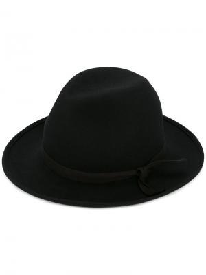Фетровая шляпа Kijima Takayuki. Цвет: чёрный
