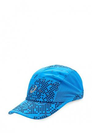 Бейсболка ASICS. Цвет: голубой