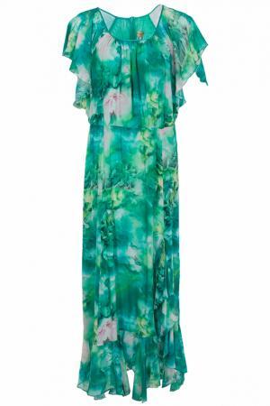Платье Elisa Fanti. Цвет: зеленый