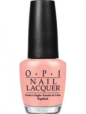 Opi Лак для ногтей Dulce de Leche, 15 мл. Цвет: бежевый