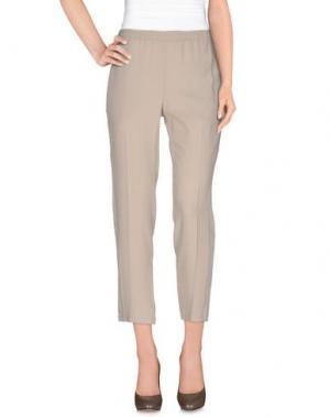 Повседневные брюки NUDE. Цвет: бежевый