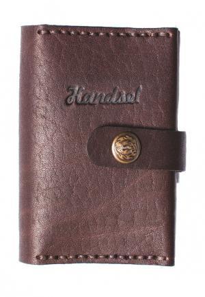Кредитница Handsel. Цвет: коричневый