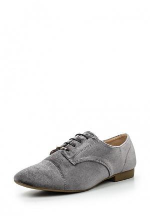 Ботинки Girlhood. Цвет: серый