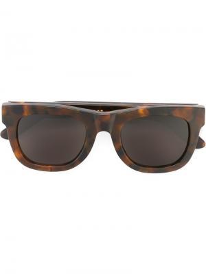 Солнцезащитные очки Ciccio Classic Havana Retrosuperfuture. Цвет: коричневый