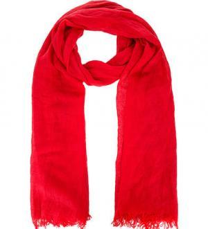 Красный трикотажный палантин FRAAS. Цвет: красный