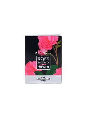 Лосьон после бритья Rose of Bulgaria for men Biofresh. Цвет: розовый, черный