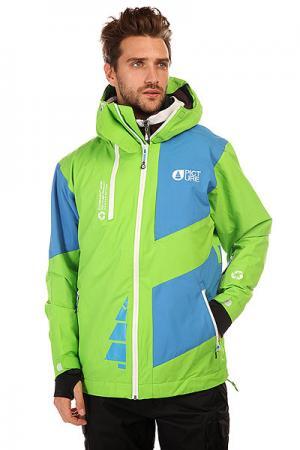 Куртка  Arpin Green/Blue Picture Organic. Цвет: зеленый,голубой