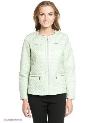 Куртка STEINBERG. Цвет: светло-зеленый