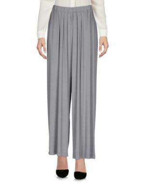 Повседневные брюки EUROPEAN CULTURE. Цвет: серый
