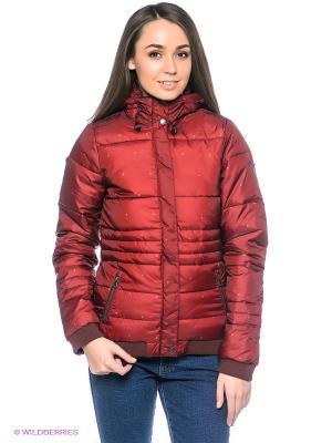 Куртка O'Neill. Цвет: бордовый