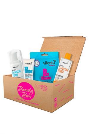 Набор Cleansing Beauty Box Vilenta. Цвет: none