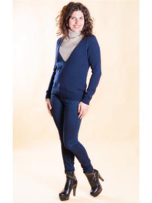 Пуловер Мирося. Цвет: темно-синий