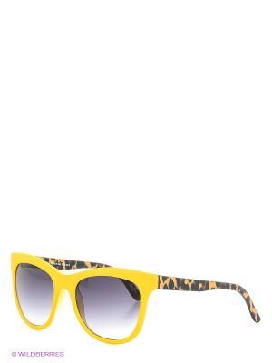 Солнцезащитные очки TOUCH. Цвет: желтый