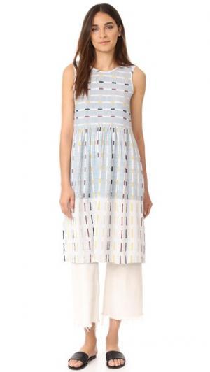 Платье Teasdale ace&jig. Цвет: плющ
