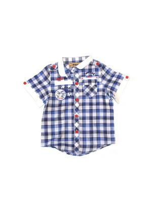 Рубашка Pilota. Цвет: фиолетовый